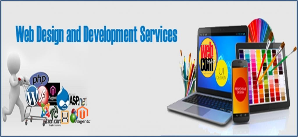 Image That Represents The Web Design and Development Services