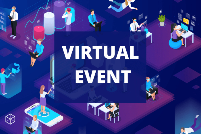 An image representing the process of Virtual Events